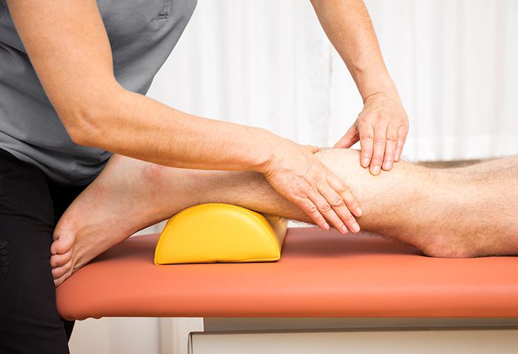 El masaje en la fisioterpia